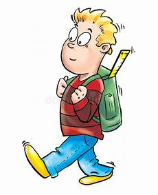 Going To School Clipart