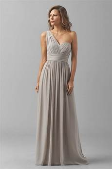 watters 8546i charlotte bridesmaid dress chiffon one shoulder