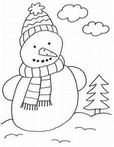 schneemann zum ausdrucken malvorlagen schneemann winter