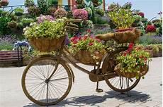 pot de fleurs extérieur 76170 le grand pot de fleur de brown a form 233 la bicyclette avec les fleurs rouges 224 l int 233 rieur image