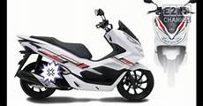 Modifikasi Pcx 2019 by Top Modifikasi Striping Pcx 2019 Modifhits