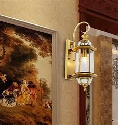aliexpress com buy free shipping vintage copper wall lights antique garden light indoor