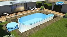 Pool In Erde Einbauen - pool aufbau