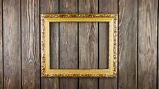 frame on wood background stock footage 100