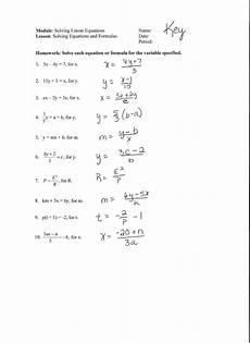 algebra worksheets solving equations 8570 alex alabama learning exchange