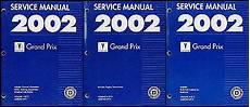 motor auto repair manual 2002 pontiac grand am electronic valve timing 2002 pontiac grand prix repair shop manual original 3 volume set