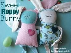 Free Pattern Sweet Floppy Bunny Sewing