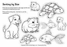 small animals coloring pages 17154 pets sorting big and small small pets for pets preschool pets preschool theme