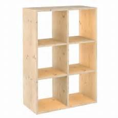 scaffali legno grezzo astigarraga scaffale dinamic 6 cubi shop su brico io