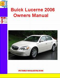 car repair manuals online pdf 2006 buick lucerne parking system buick lucerne 2006 owners manual download manuals technical