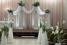 rent wedding ceremony decor from in the mood decor in chicago il wedding columns pinterest