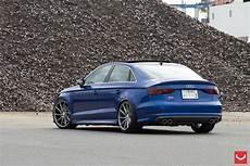 Audi S3 Sedan Vossen Wheels Tuning Wallpaper 1600x1067
