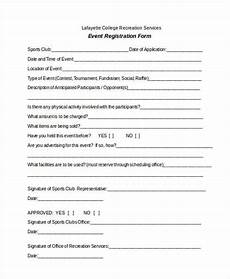 conference registration form template word free 38 registration form templates
