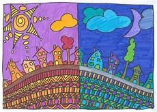 peinture couleur chaud arts visuels couleurs chaudes et couleurs froides