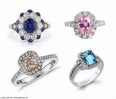 engagement rings with colorful gemstones from 2 000 to