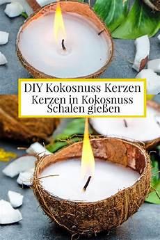 diy kokosnuss kerzen kerzen selber machen duftkerzen