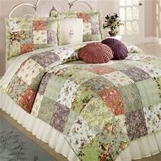 copriletti patchwork blooming prairie cotton patchwork quilt set bedding baby