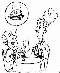 malvorlage kinder restaurant mann in restaurant ausmalbild malvorlage sonstiges