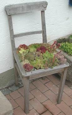 Recycled Chair Garten Garten Recycling Garten Deko