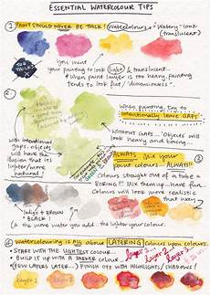 watercolor tips and tricks we know how to do it