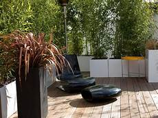 Sichtschutz Terrasse Bambus - how to customize your outdoor areas with privacy screens