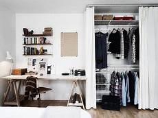 Begehbarer Kleiderschrank Mit Vorhang - simpele mooi afgewerkte inloopkast schlafzimmer schrank
