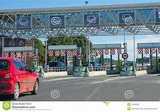 Highway Road Toll Stock Photo Image 41850305