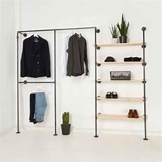 kleider regal garderobe industrial design offenes ankleidesystem online