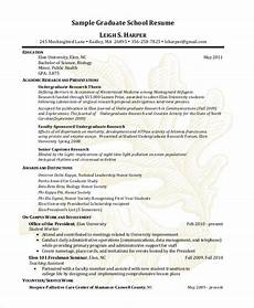 sle graduate school resume 9 exles in pdf word