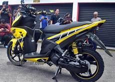 Modifikasi Aerox 125 by Yamaha Aerox 125 Lc Versi Modifikasi Bakal Jadi Trend