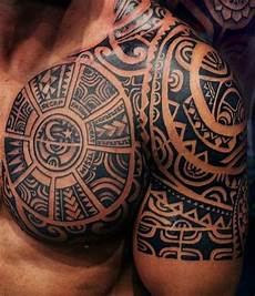 Tattoos Männer Schulter - 49 maori ideen die wichtigsten symbole und ihre
