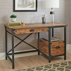 pine home office furniture rustic country desk computer home workstation weathered
