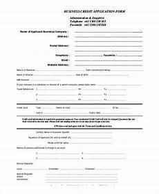 sle credit application 11 exles in pdf word