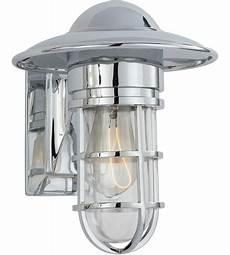 outdoor wall lantern chrome visual comfort slo2001ch cg e f chapman marine 1 light 11 inch chrome outdoor wall lantern in