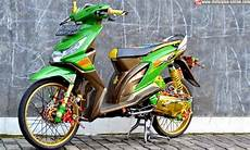 Modifikasi Motor Matic Beat by Modifikasi Motor Honda Beat Drag Style Modifikasi Motor