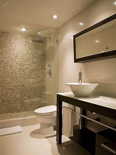 tile designs for bathrooms spaces shower with pebble tiles design pictures remodel