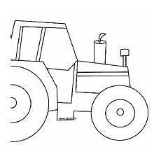 Comment Dessiner Un Tracteur Tractor Coloring Pages