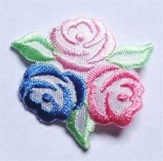 applique iron on embroidered iron on applique tri 1 3 8 inch ebay