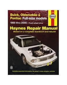1985 2005 full size models buick oldsmobile pontiac haynes repair manual 19020