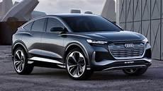 audi q4 e sportback concept debuts with sleek looks 301 hp
