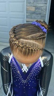 gymnastics hair braids hair styles in 2019