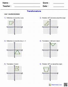 grade 4 transformational geometry worksheets transformation worksheets geometry worksheet geometry worksheets transformations math math