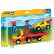 Playmobil Voiture De Course Camion Transpo Achat