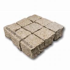 pflastersteine granit gelb 8 11 naturstein kaufen de