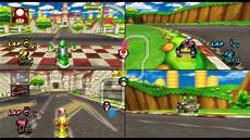 Mario Kart Wii Mario Circuit 3 Player Netplay Race 60fps