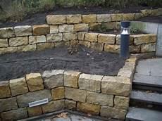 Trockenmauer Sandstein Picture Natursteine