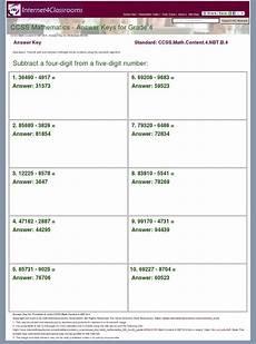 answer key worksheet 4284 ccss math content 4 nbt b 4