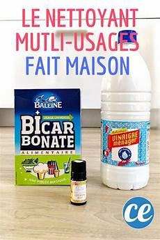 bicarbonate vinaigre blanc le nettoyant multi usages
