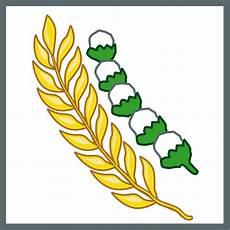 File Pancasila Sila 5 Rice And Cotton Svg Wikimedia Commons