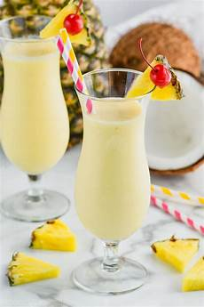 pina colada only three ingredients wine and glue